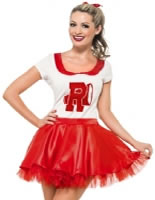 Adult Grease Sandy Cheerleader Costume [25873]