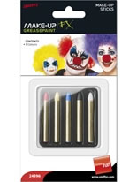 Pack of 5 Greasepaint Sticks
