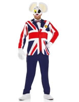 Great British Danger Mouse Costume