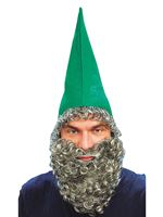 Green Dwarf Hat with Beard [BH301]