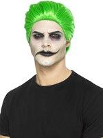 Green Slick Trickster Wig [45054]