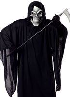 Aduly Plus Size Grim Reaper Costume