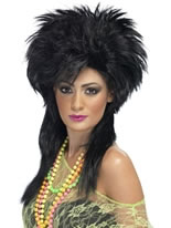 Groovy Punk Chick Wig