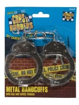 Handcuffs Metal with Key [429]