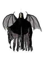 Hanging Skeleton Angel Decoration [36044]