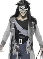 Adult Haunted Swashbuckler Pirate Costume