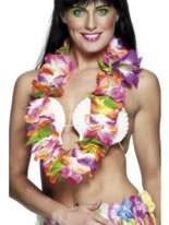 Hawaiian Garland Brightly Coloured