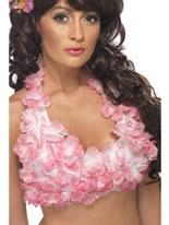 Adult Hawaiian Halterneck Top [34018]