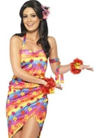 Adult Hawaiian Party Girl Costume