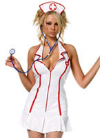 Adult Head Nurse Costume