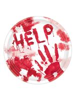 Help Me Bloody Paper Plates [741651]