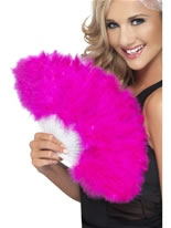 Hen Night Marabou Fan