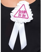 Adult Bride to Be Rosette