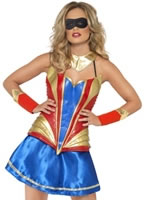 Adult Hero Hottie Costume [26203]