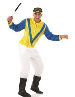 Adult Hi De Hi Jockey Fred Quilly Costume