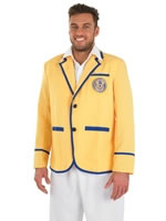 Hi De Hi Male Yellow Coat Costume