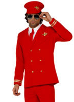 Adult High Flyer Pilots Costume [34156]