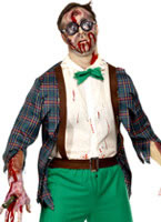 High School Horror Zombie Geek Costume [32128]