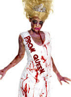 Adult Zombie Prom Queen Costume