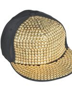 Hip Hop Bling Hat [845902-55]