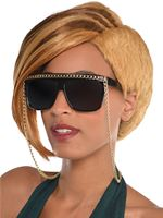 Hip Hop Glasses with Chain