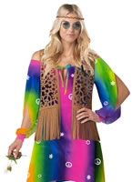 Adult Hippie Chick Costume [01233]