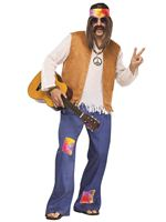 Adult Hippy Male Costume