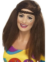 Hippy Chick Long Afro Wig