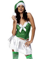 Adult Fever  Holiday Cheer Costume