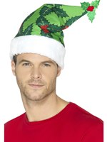 Holly Berry Santa Hat [44896]
