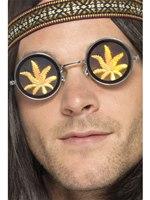 Holographic Marijuana Glasses [41578]