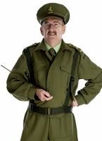 Adult Home Guard Dad's Army Costume