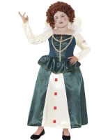 Child Horrible Histories Queen Elizabeth I Costume