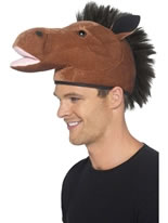 Horse Hat with Mane [22165]