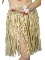Adult Hula Skirt Natural