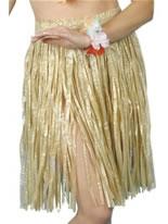 Adult Hula Skirt Natural [22326]