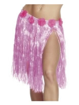 Adult Hula Skirt Neon Pink [25705]