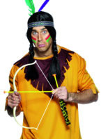 Indian Bow And Arrow Set Plastic