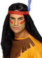 Indian Brave Wig [42189]