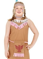 Indian Girl Childrens Costume [38641]