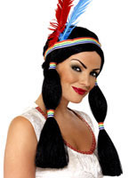 Indian Princess Wig [42190]