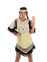 Adult Indian Scout Costume