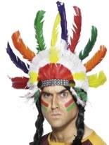 Indian Sitting Bull Headdress