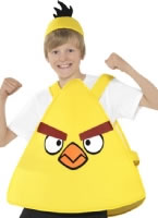 Child Angry Birds Yellow Costume