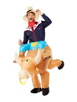 Inflatable Bull Rider Costume [55025]