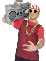 Inflatable Ghetto Blaster [38895]