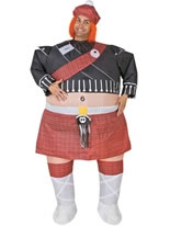 Inflatable Highlander Costume