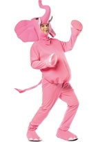 Adult Pink Elephant Costume [6511]