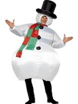 Adult Christmas Pudding Costume 31312 Fancy Dress Ball