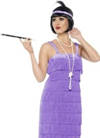 Adult Lilac Jazz Flapper Costume